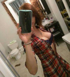 photo selfie hot plan cul avec fille sexy du 83
